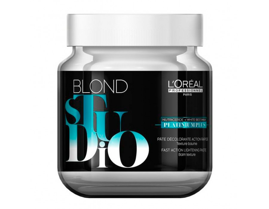 Обесцвечивающая паста LOreal Professionnel Blond Studio Platinium Plus