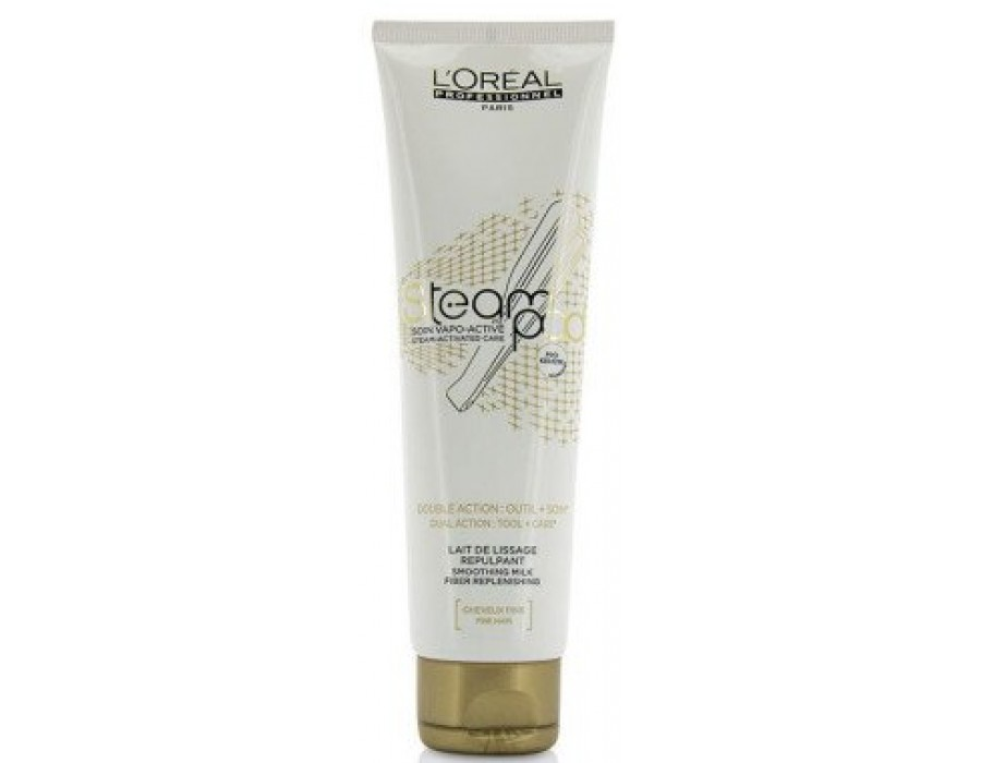 Крем-уход для нормальных волос L'Oreal Professionnel Steampod Smoothing Milk Fiber Replenishing