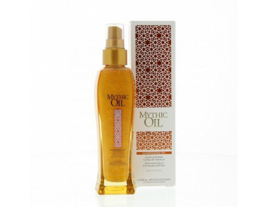 Мерцающее масло для волос и тела L'Oreal Professionnel Mythic Oil Shimmering Oil