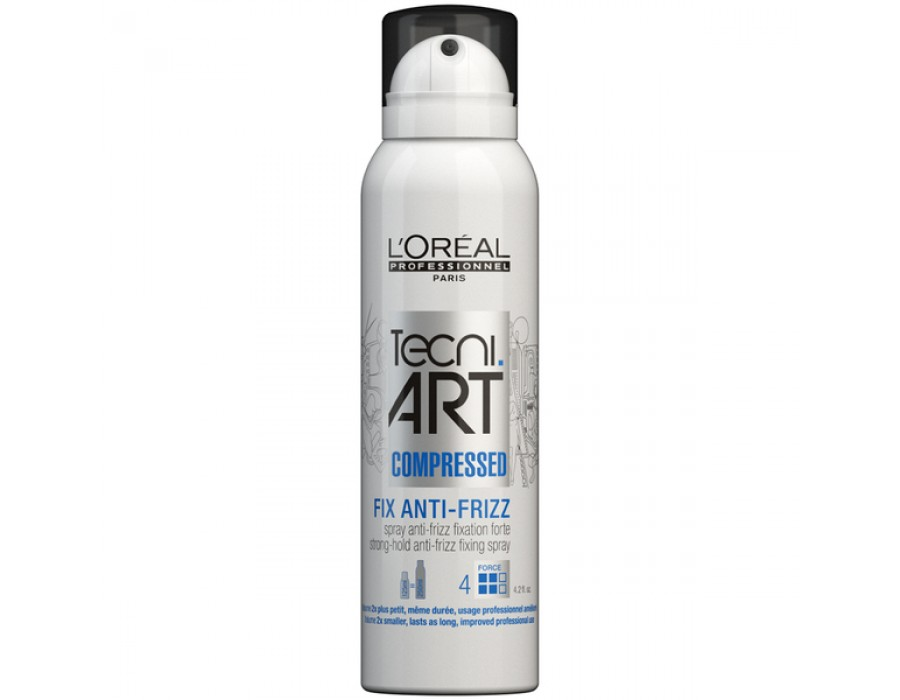 Лак для волос LOreal Professionnel Tecni.art Fix Anti-Frizz Fix Force 4