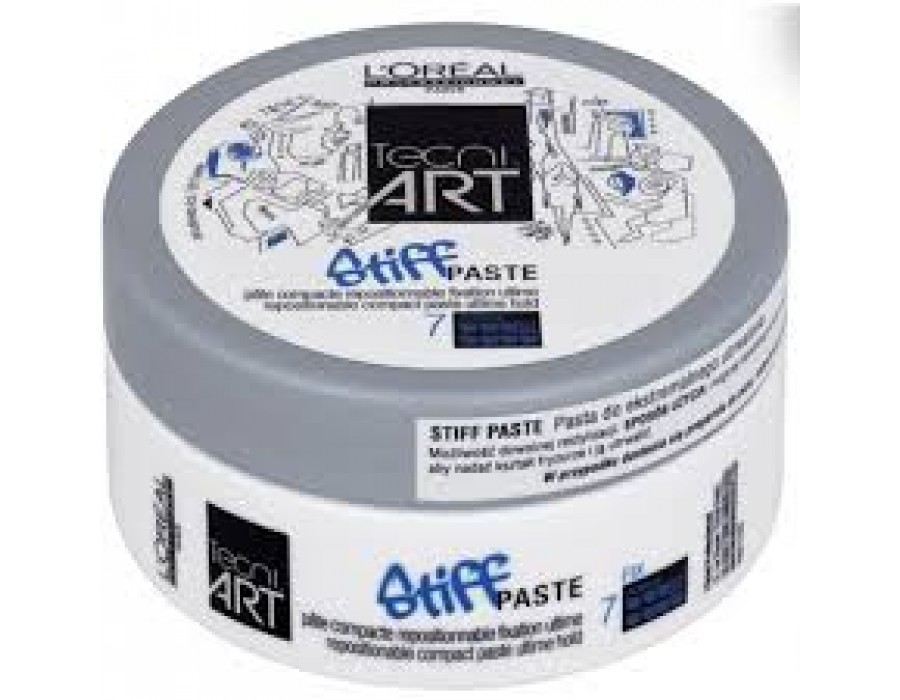 Паста для фиксации волос Loreal Professionnel Tecni.art Stiff Paste 7 Force