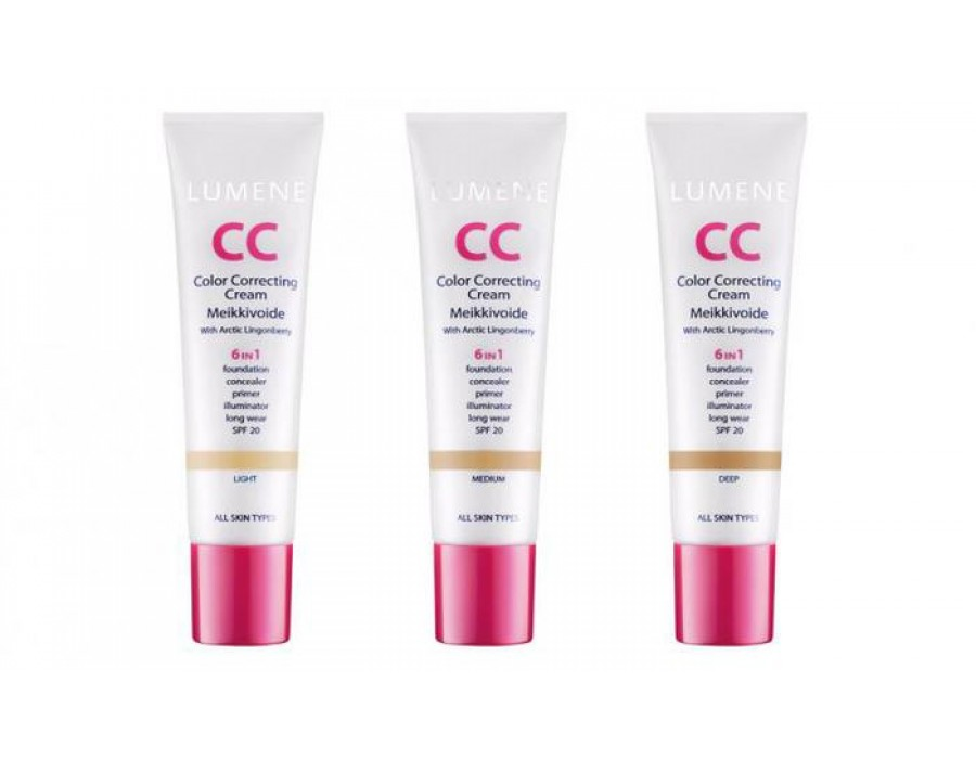 Тональный СС-крем Lumene CC Color Correcting Cream
