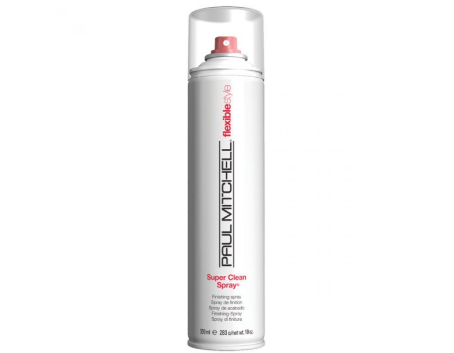 Лак для волос средней фиксации Paul Mitchell Flexible Style Super Clean Spray