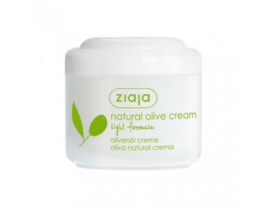 Натуральный оливковый крем легкая формула Ziaja Natural Olive Cream Light