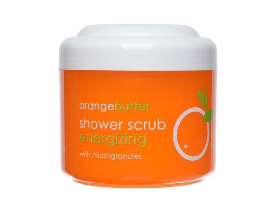 Скраб для душа с микрогранулами Ziaja Orange Butter Body Scrub