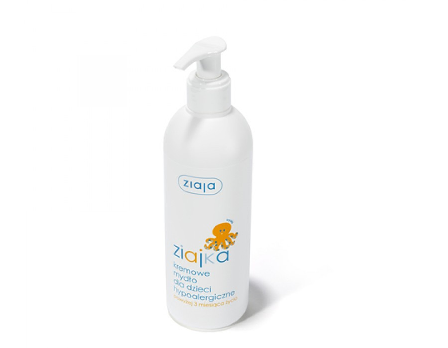 Гипоаллергенное кремовое мыло Ziaja for Kids Creamy Oil Wash